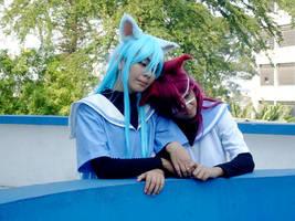 Youji and Natsuo by Yukishir0