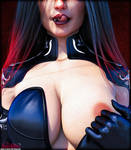 Witch One - Larissa, Sister of Lust by beWilderGames