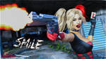Harley Quinn: Shoot Me a Smile! by beWilderGames