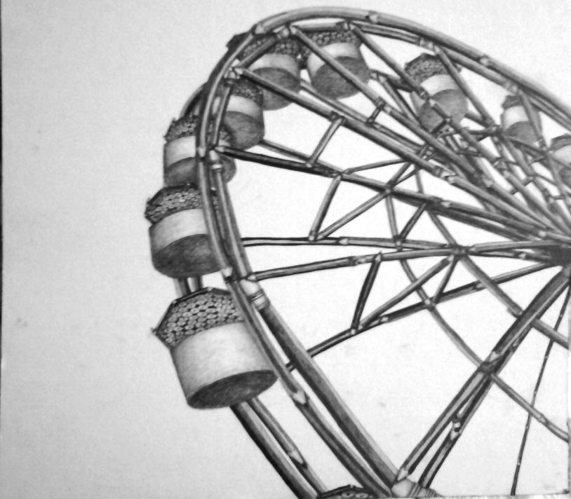 Pencil Ferris Wheel by Riorae on DeviantArt