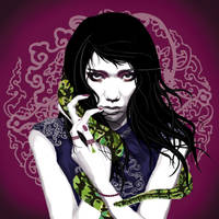 Year of the snake by Veroine