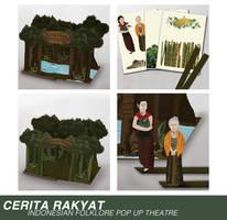 Cerita Rakyat Pop Up Theatre by Veroine