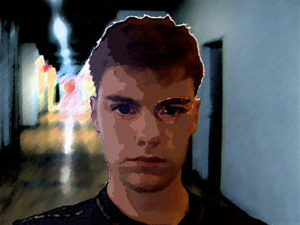 Broken Man, Broken Corridor by BritTheMighty