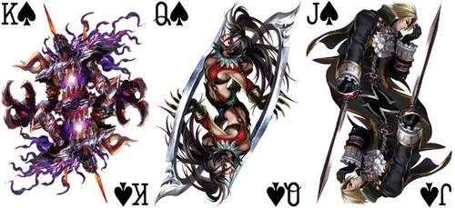 Soul Calibur Playing Cards 1 by BritTheMighty