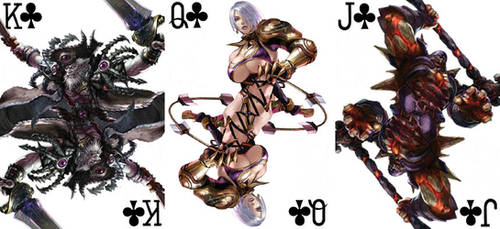 Soul Calibur Playing Cards 2 by BritTheMighty