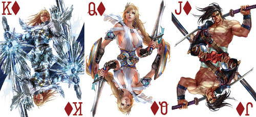 Soul Calibur Playing Cards 4 by BritTheMighty