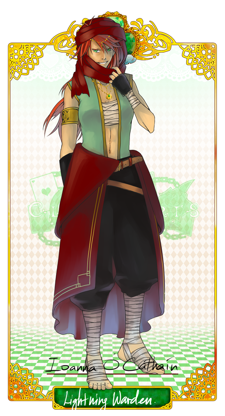 ClockHearts: Eoin by SepticBleach