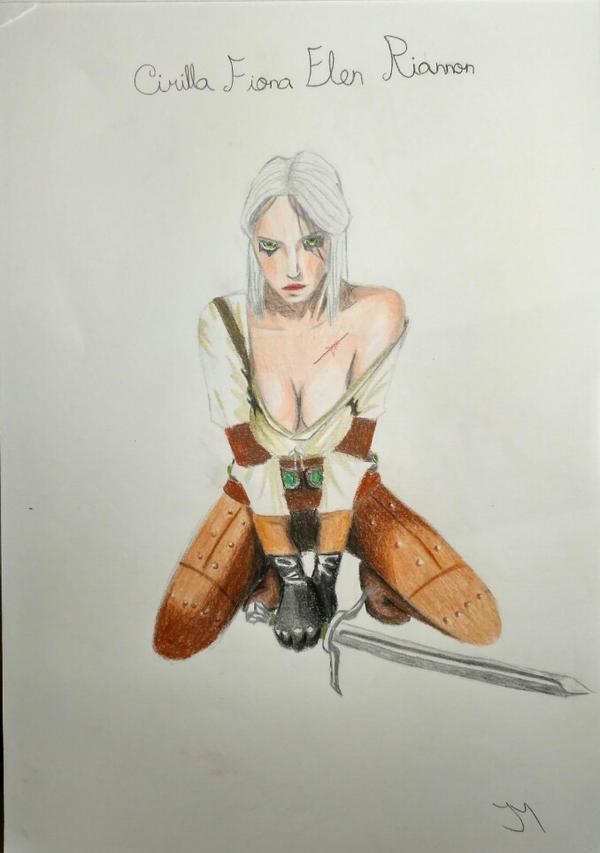Ciri - The Witcher by JoseMnw498