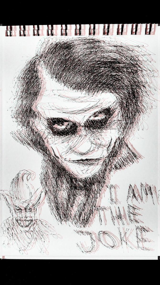 The Joker - The Dark Kinght by JoseMnw498