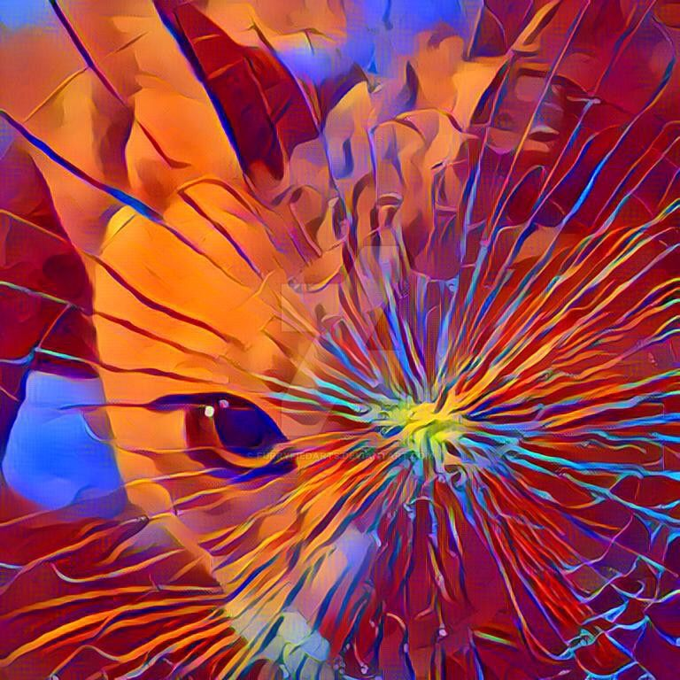 Shattered Cats Eye by mare33