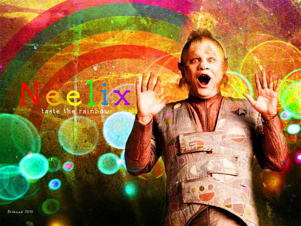 Neelix: Taste the Rainbow by Belanna42