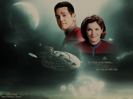 Janeway/Chakotay: TIme to go home