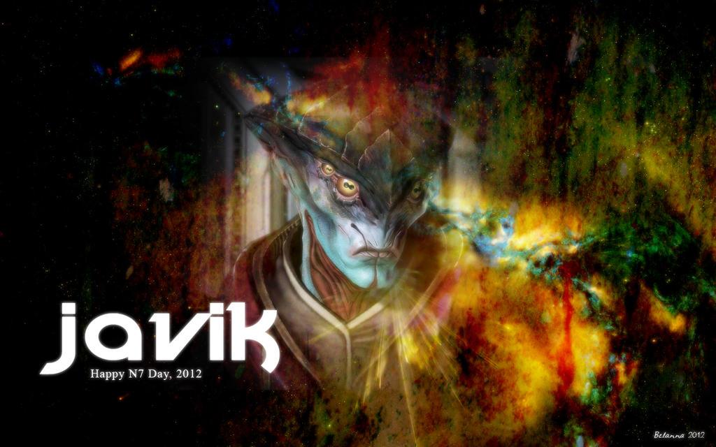 Javik: Happy N7 Day by Belanna42