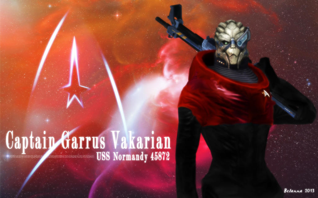Star Trek Captain: Garrus Vakarian by Belanna42