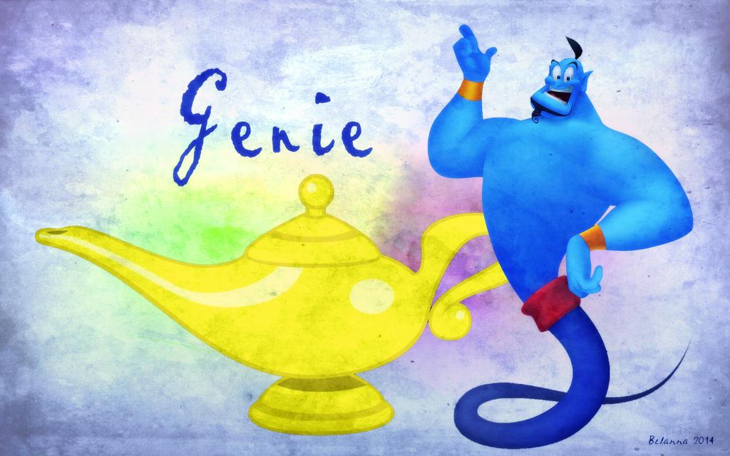 Aladdins Genie By Belanna42