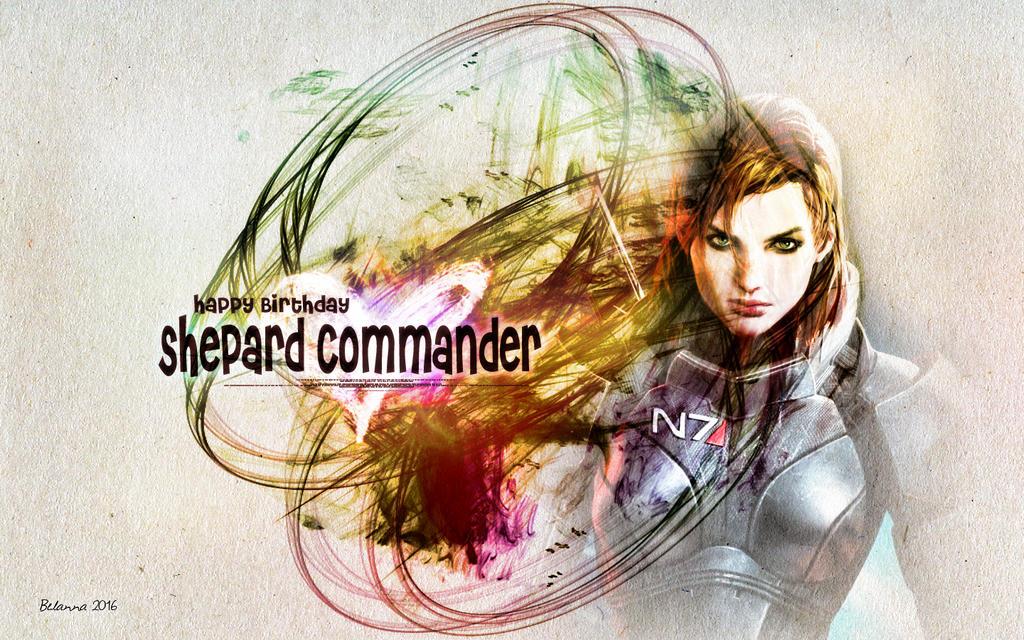 Happy Birthday, Shepard