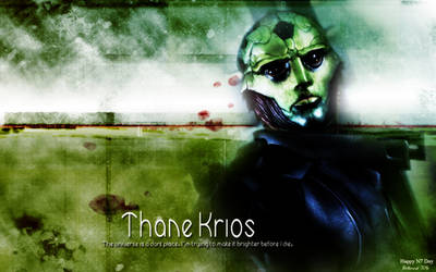 Thane Krios: Dark Place by Belanna42
