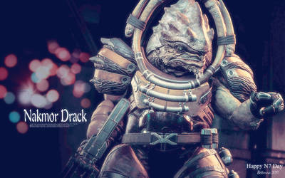 Happy N7 Day - Drack by Belanna42