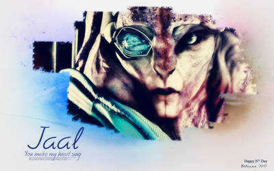 Happy N7 Day - Jaal by Belanna42
