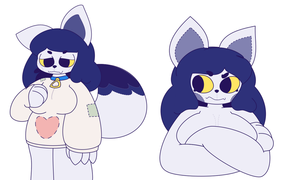 Lupa Doodles Also Again by ScrubSandwich