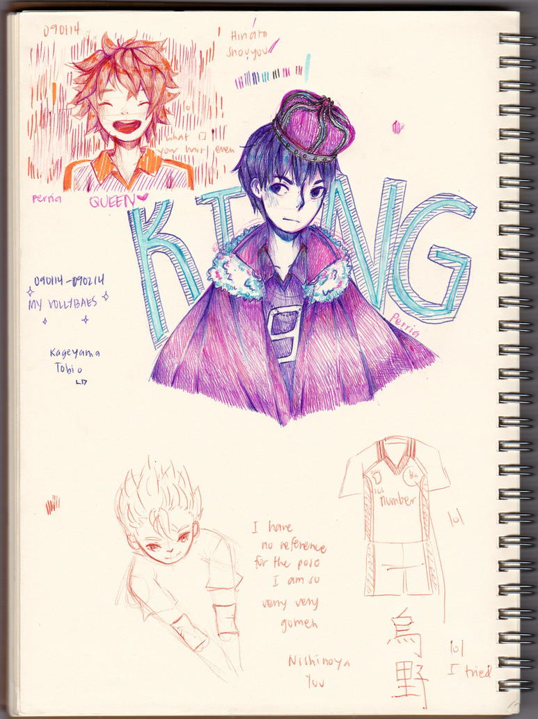 [Trad.] Ballpoint!! by perria