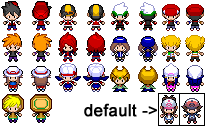 Pokemon Special Sprites: Black and White by PrettySoldierPetite
