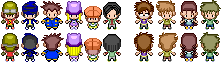 Pokemon Black and White Sprites: Digimon Frontier by PrettySoldierPetite