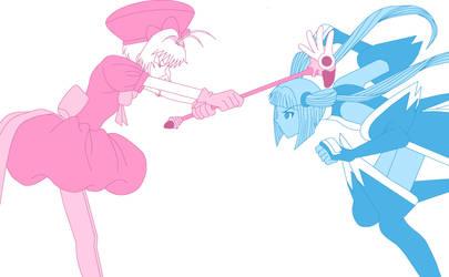 Sakura vs. The Fight Card