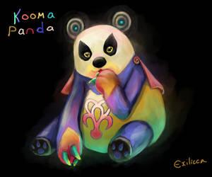 Kooma Panda by Exilicca
