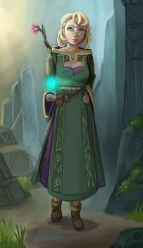 D+D character design - Myora