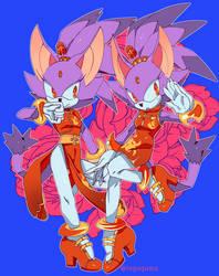 Sonic Forces Speed Battle:: Blaze skin