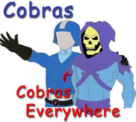 Cobras...Cobras everywhere by Retroal