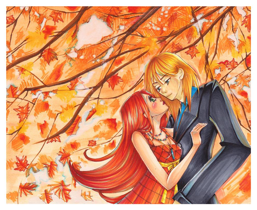Autumn Sky by J-Kalika