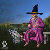 Commission: Abrahil, part 5: Fairies! by Skiriki