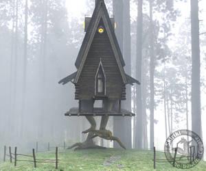 You Roll a Random Encounter: Baba Yaga's Hut by Skiriki