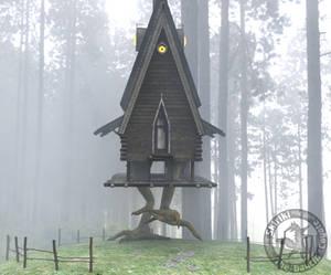 You Roll a Random Encounter: Baba Yaga's Hut