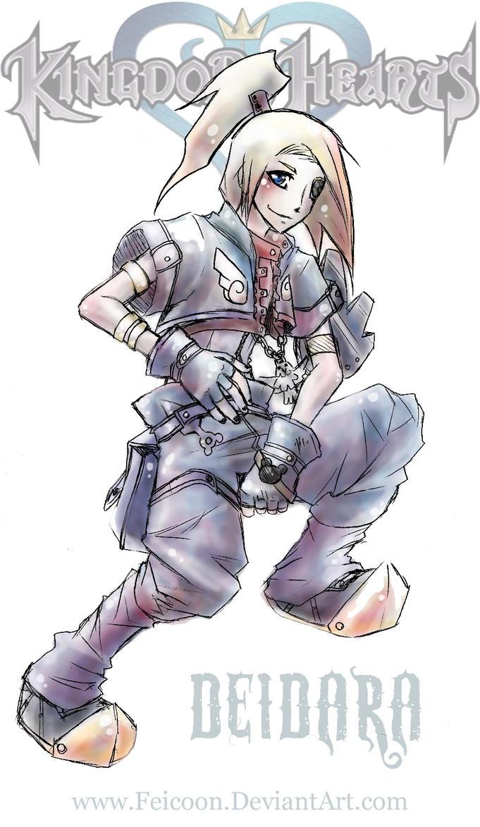 Kingdom Hearts Deidara by Feicoon