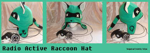 Radio Active Raccoon Hat by Feicoon