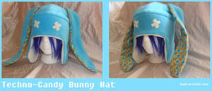 Techno-Candy Bunny Hat