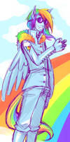 RainbowDash Brony