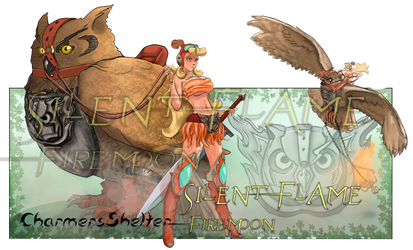 Silent Flame With FireMoon [Closed] [AUCTION]