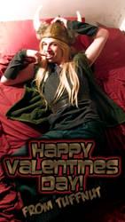 Viking Valentine by kh2kid
