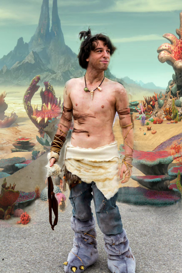 Guy - The Croods Cosplay by kh2kid