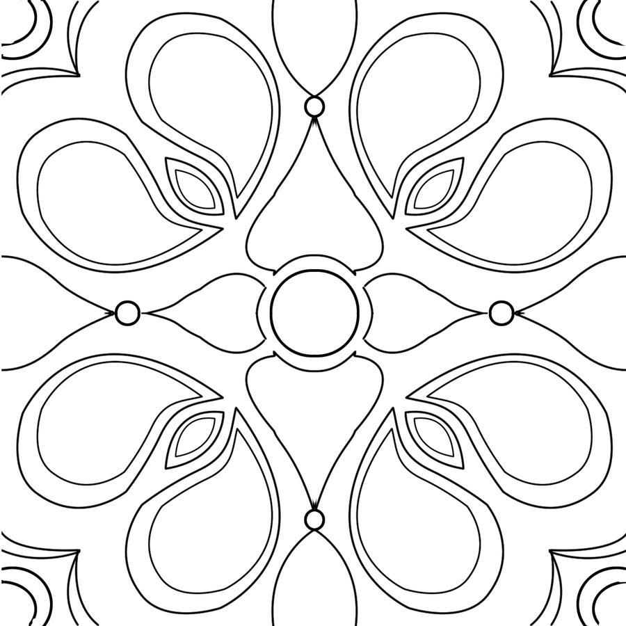 Out Line Art Design : Paisley outline textile design by gabby on deviantart
