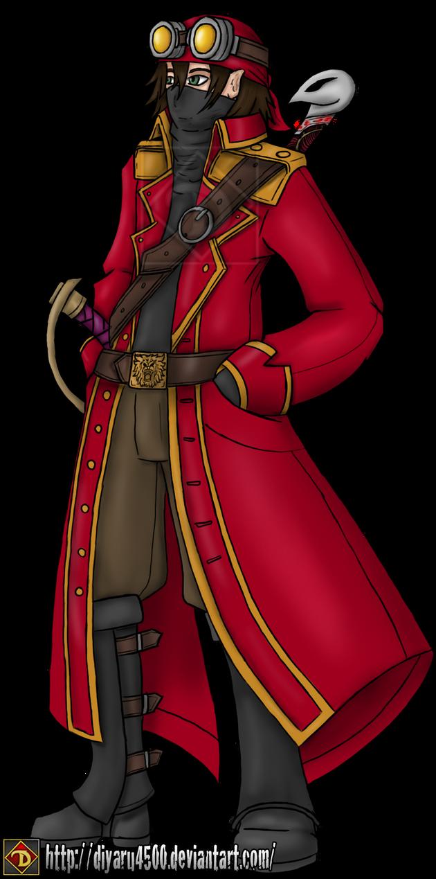 Mizani - Captain Diavol the Bloody Lion by Diyaru4500
