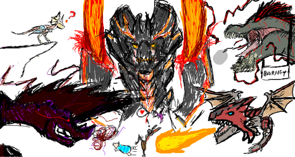 iScribble Fun - Unluckiest Hunter Alive by Diyaru4500