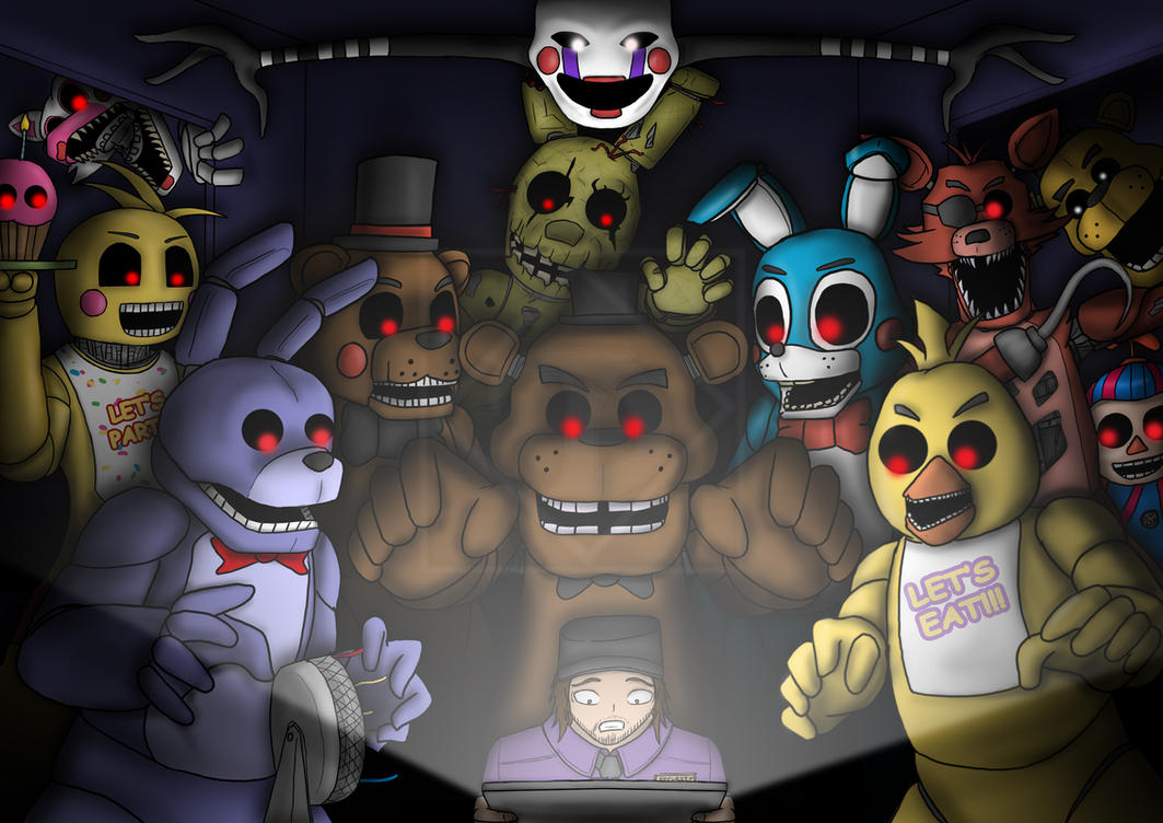 FNaF - Where did they all go!? by Diyaru4500 on DeviantArt