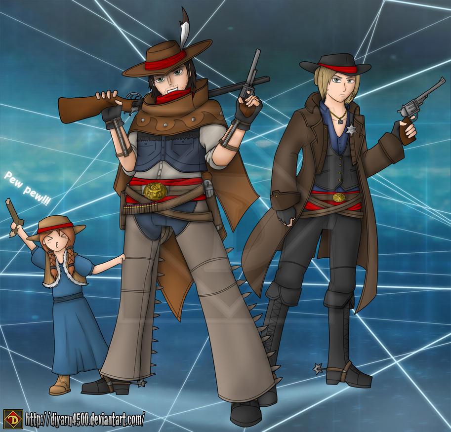 Assassin's Creed - Western Assassins by Diyaru4500