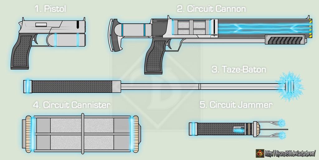 Gadgets of Virome by Diyaru4500