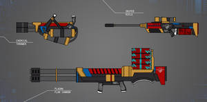 Shadowrun - Vinson Omnitech Weaponry